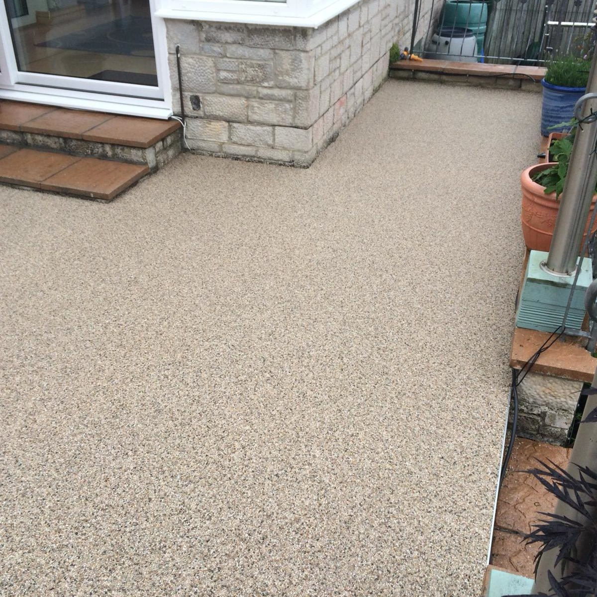 RESIN BOUND PATIO - OYSTER