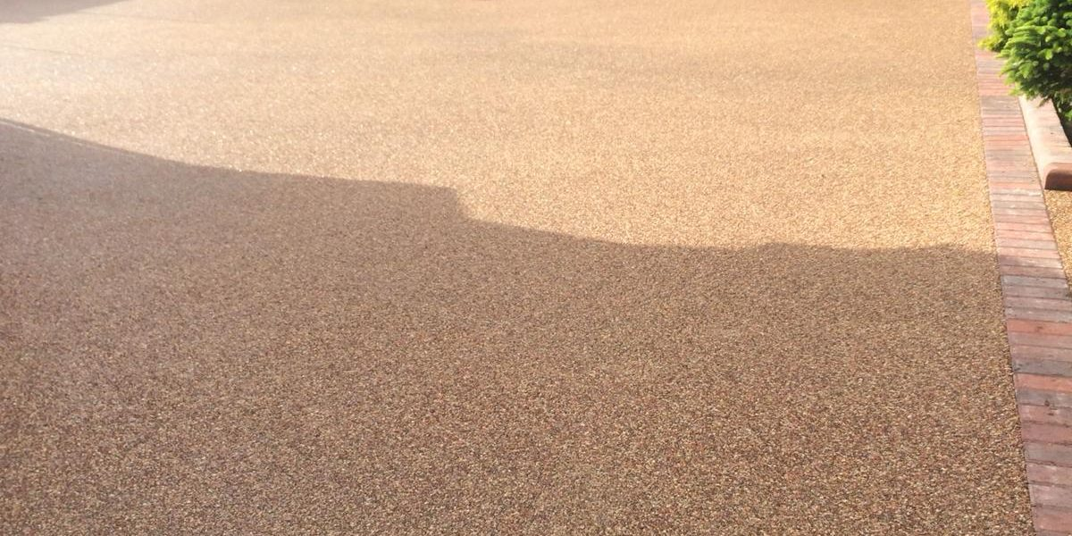 RESIN BOUND DRIVEWAY - EVENING ROSE