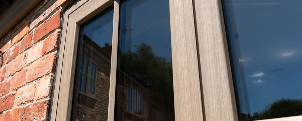 Wood Effect UPVC casement